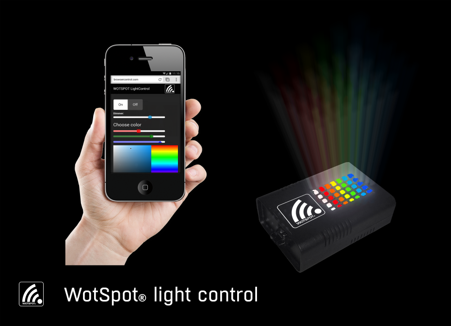WotSpot® browser based smart control System